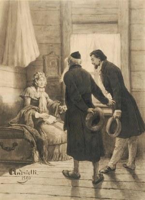 Elwiro Michał ANDRIOLLI (1836-1893), List [Odwiedziny], 1890