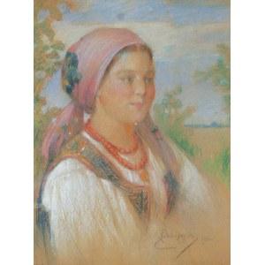 Kasper ŻELECHOWSKI (1863-1942), Krakowianka jedna …, 1922