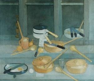Kiejstut BEREŹNICKI (ur. 1935), Martwa natura wiejska, 1985