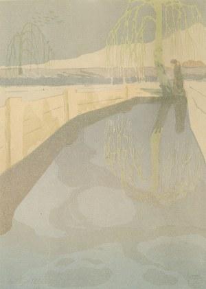 Leopold Gottlieb (1879-1934), Pejzaż, 1903