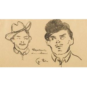 """Stanisław Szreniawa-Rzecki (1888-1972), Franciszek Frączkowski, z """"Teki Melpomeny"""", 1904"""