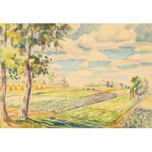 Antoni Kierpal (1898-1960), Pejzaż wiejski