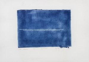 Agata Budny, List niebieski, 2015