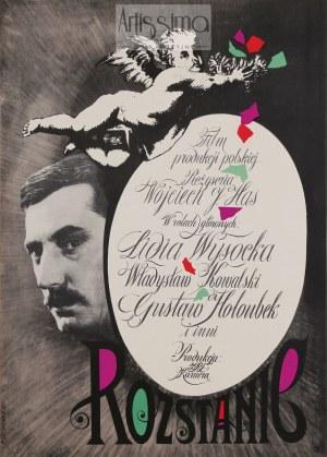 Roman Cieślewicz (1930–1996), Plakat filmowy Rozstanie, 1961