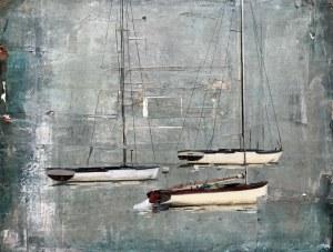Agata Krutul (ur. 1983, Białystok), Tre båter, 2018 r.