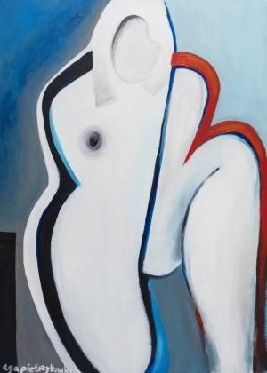 Aga Pietrzykowska (1978), Francja jest kobietą II - Ciężar błękitnego nieba (2015)