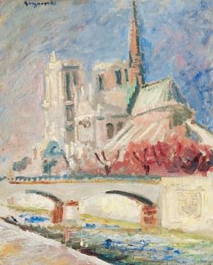 Stanisław BORYSOWSKI (1906-1988), Katedra Notre Dame w Paryżu, przed 1939