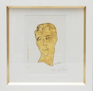Andy Warhol (1928 – 1987), Apollo złoty