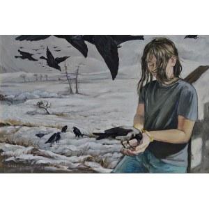 Małgorzata Korenkiewicz, 1968, Czarne ptaki, 2017