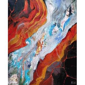 Kamila Wojciechowicz, 1991, Abstract composition 5