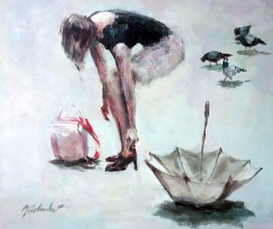 Jerzy Cichecki, 1960, Kobieta bez cienia, 2017