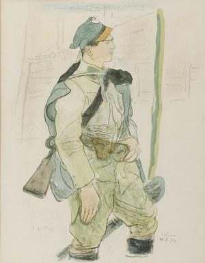 Leopold GOTTLIEB (1879-1934), Legionista