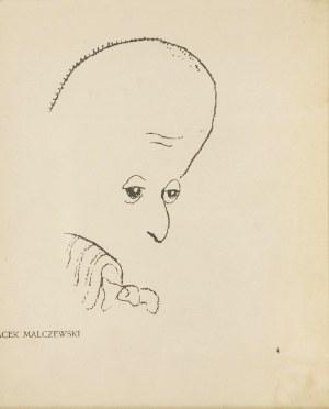 Kazimierz SICHULSKI (1879-1942), Karykatura Jacka Malczewskiego