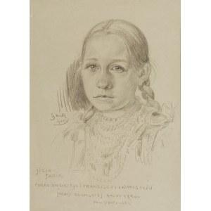 Ignacy WRÓBLEWSKI (1858-1953), Józia, 1918