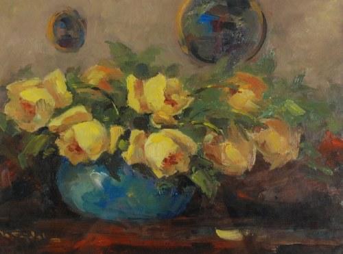 Henryk SAJDAK (1905-1995), Żółte róże