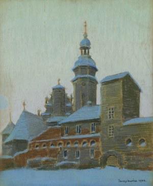 Janusz JAROSIEWICZ (1894-1974), Kościół zimą