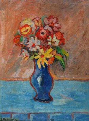 Jan NALIWAJKO (ur. 1938), Kwiaty w wazonie, 1961