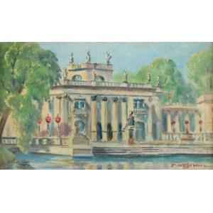 Dariusz WĄSOWICZ (1910-1973), Łazienki - Pałac na Wodzie