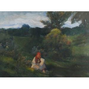 Kasper ŻELECHOWSKI (1863-1942), Odpoczynek na łące