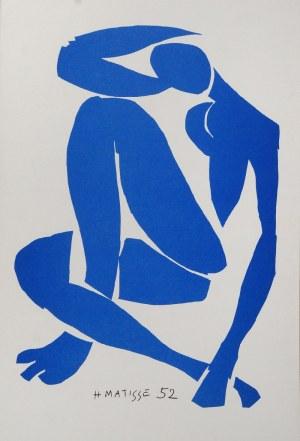 Henri MATISSE (1869-1954) - według, Postać niebieska