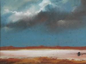 Borys MICHALIK  (ur. 1969), Pejzaż z chmurami