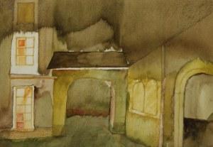 Barbara PRZYŁUSKA (ur. 1958), Stare miasto w złocieni