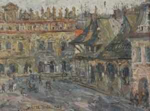 Włodzimierz ZAKRZEWSKI  (1916-1992), Rynek w Kazimierzu Dolnym, 1965