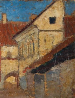 Zbigniew KALISZCZAK, ULICA ZAMKOWA W WILNIE, ok.1925