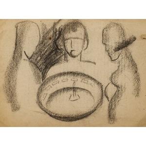 Zbigniew KALISZCZAK, SEANS SPIRYTYSTYCZNY, 1928