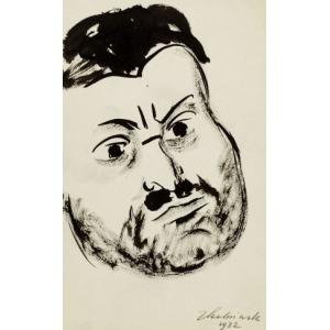 Zbigniew KALISZCZAK, GŁOWA MĘSKA, 1932