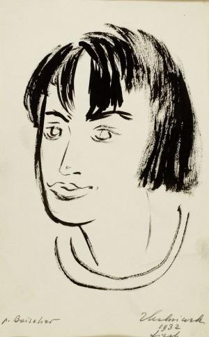 Zbigniew KALISZCZAK, PANI BOISELIER, 1932