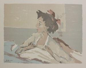 """Bencion Rabinowicz [Benn] (1905-1989), Przebudzenie(z teki """"BENN. 14 litographies originales en couleurs"""", 1964)"""