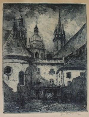 Jan Rubczak (1884-1942), Kraków. Mały Rynek