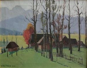 Alfred Terlecki (1883-1973), Jesień pod Giewontem (1924)