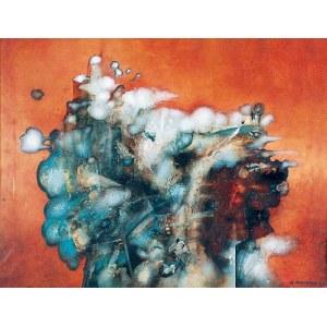 Andrzej PUTRYM (1944-1990), Kompozycja abstrakcyjna, 1973