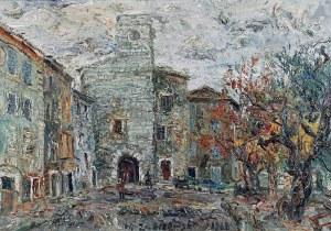 Włodzimierz ZAKRZEWSKI (1916-1992), Tourettes sur Loup, 1968