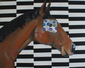 Sławomir Danielski, Kary koń z białą łatą w groszki
