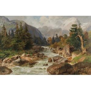 Alois ARNEGGER (1879-1963), Pejzaż górski