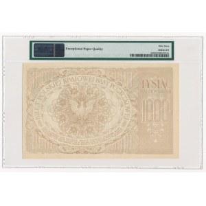 1.000 marek 1919 - Ser.ZL. - PMG 63 EPQ - duża litera S