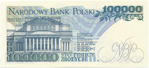 100.000 złotych 1990 -A-