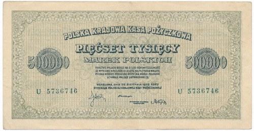 500.000 marek 1923 -U-