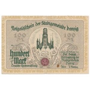 Gdańsk 100 marek 1922