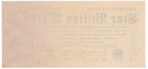 Germany - 1 billion mark 1923 - 4R