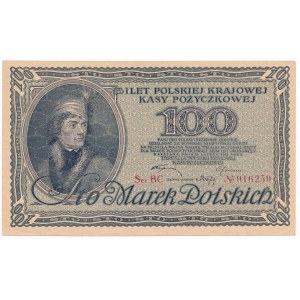 100 marek 1919 -BC- PIĘKNY