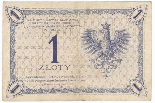 1 złoty 1919 S.88.I