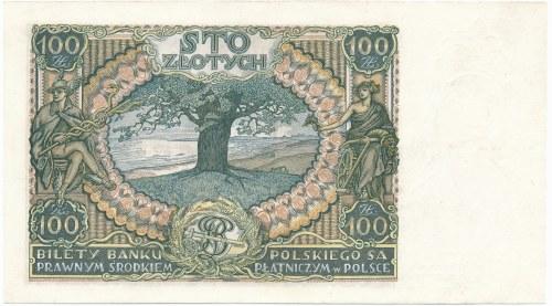 100 złotych 1932 Ser.AA - pierwsza seria