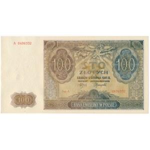 100 złotych 1941 -A-