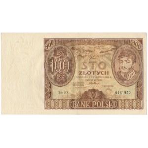 100 złotych 1932 Ser.AX. znw +X+