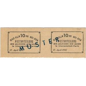 10 pfennig 1942 - SPECIMEN - MUSTER - UNIQUE ITEM