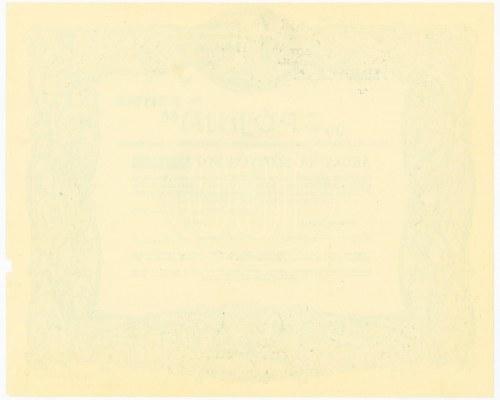 SPÓJNIA Hodowla Nasion Towarzystwo Akcyjne w Nochowie, 100 złotych 1927